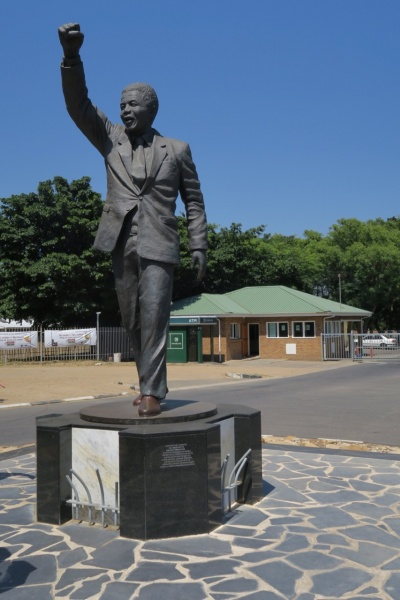 Long walk to freedom statue