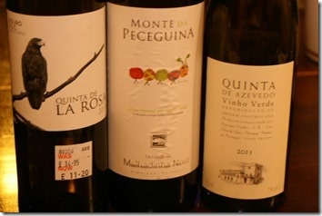 three Portuguese whites