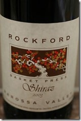 Rockford's Shiraz