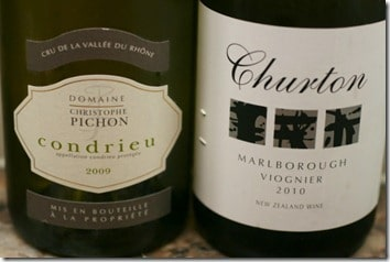 Pichon's Condrieu and Churton Viognier