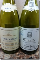 two Chablis