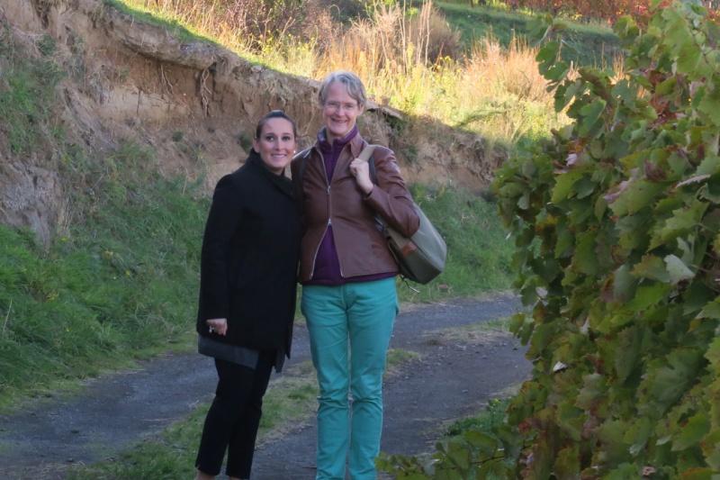 Elena Fucci and Janet