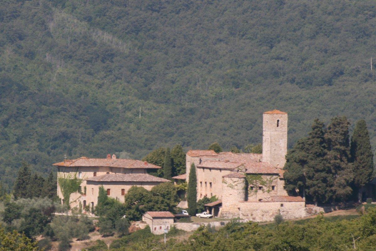San Polo in Rosso, from Castello di Ama