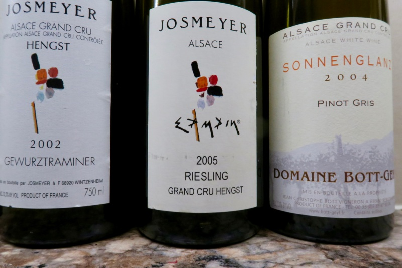 three top wines
