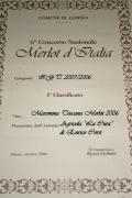 Merlot d'Italia prize