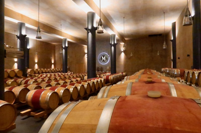 Monteverro barrel hall