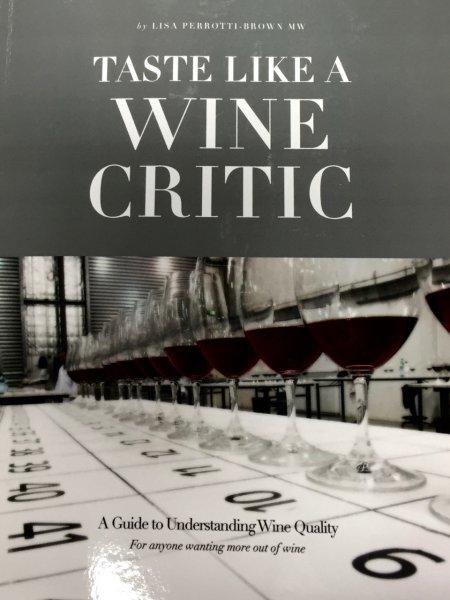 Taste like a wine critic cover