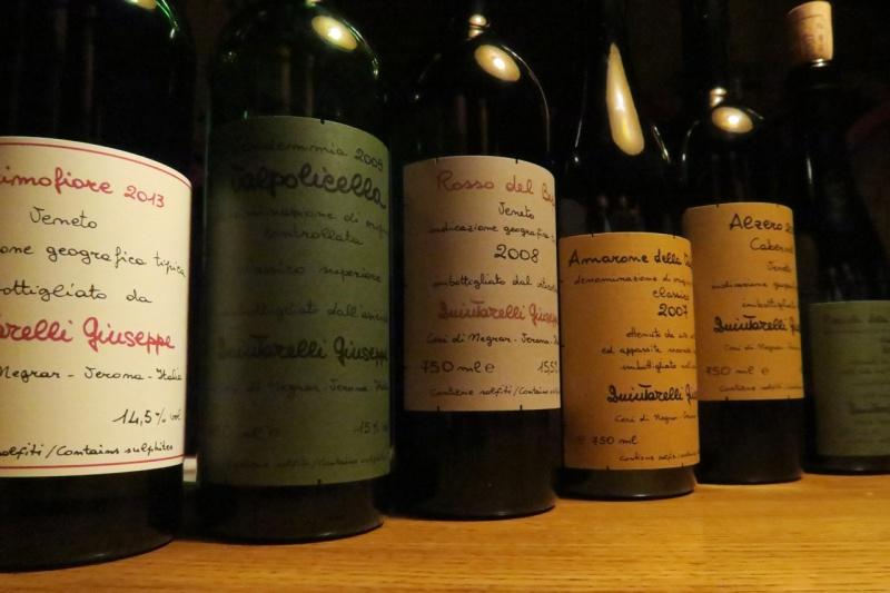 Quintarelli bottles