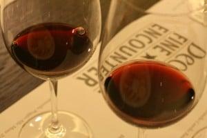 Brunello in the glass