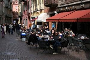 Cafe in Alba