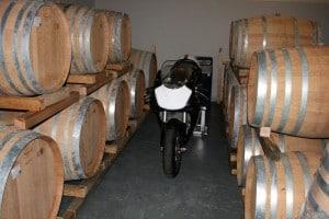 Prize bike at rest