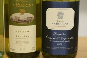 La Parrina bottles