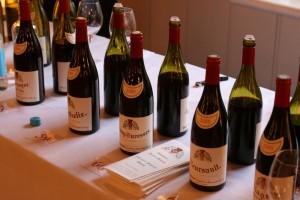 Meursault bottles