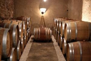 cellar at Prieuré Borde-Rouge