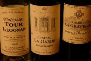 Three white Bordeaux