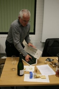 Martin unpacking the Bolly