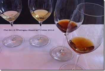 the four colours of Riesling