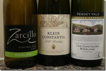 New world Riesling