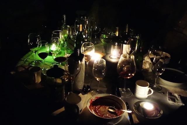 Birthday dark party