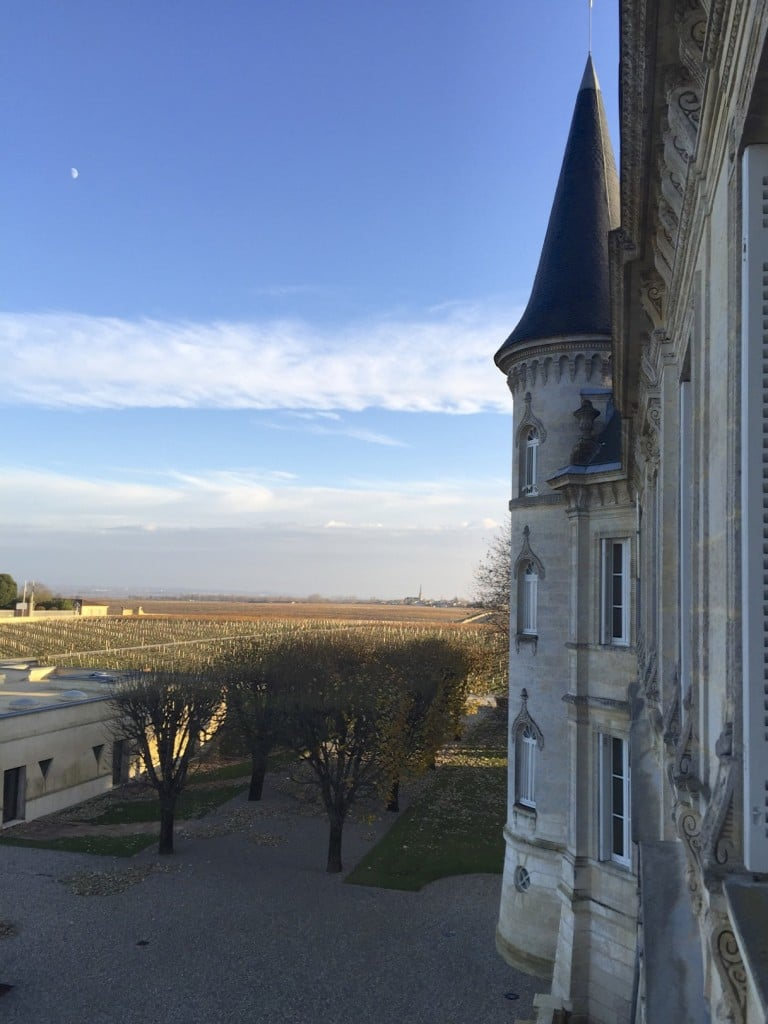 View from Ch. Pichon Baron