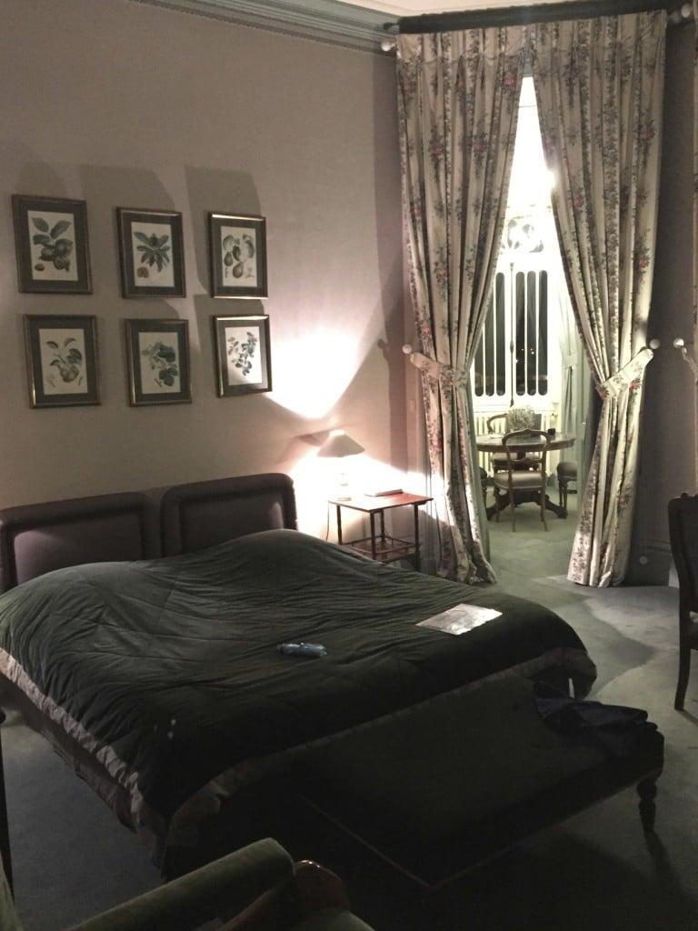 Room at Pichon Baron