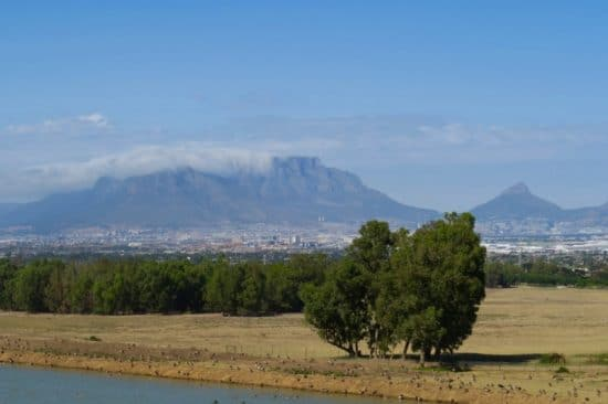 Cape Town from Durbanville Hills