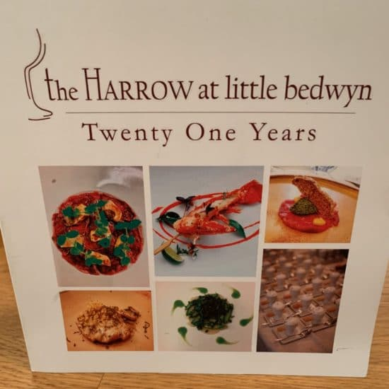 Thank you card from The Harrow