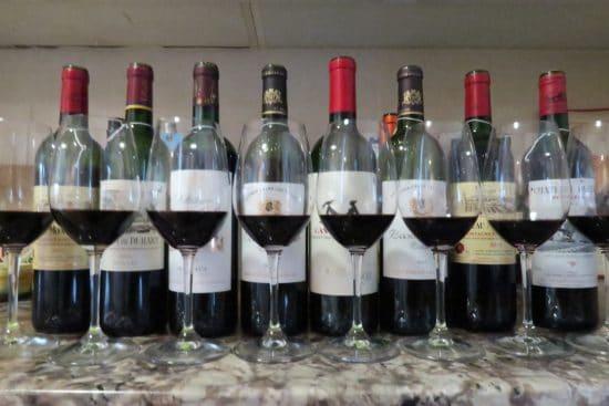 Working hard to improve wine tasting skills for the MW exam