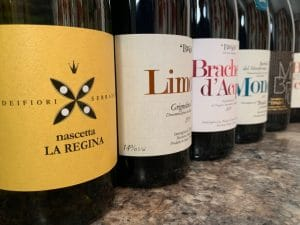 Barbera styles: Braida labels