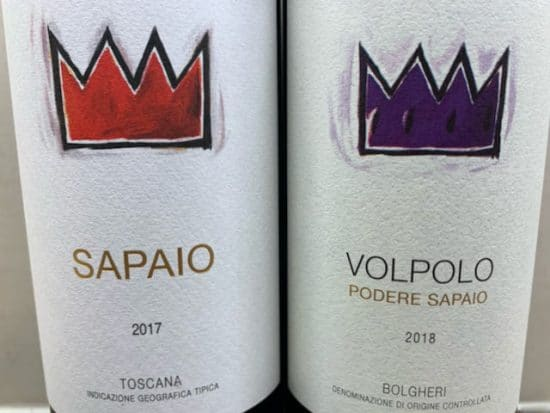 Podere Sapaio – two great Cabernet-based blends