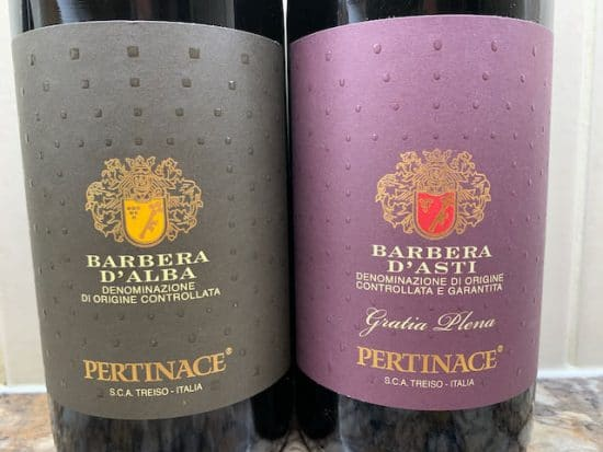 Barbera in two places