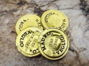 Mauro Veglio's gold capsules