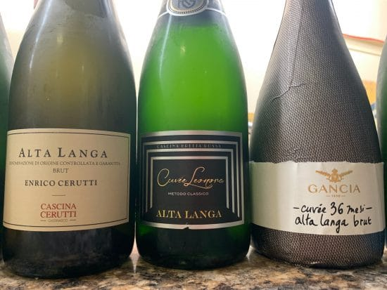 Piemonte's sparkling wine tradition: the classic style