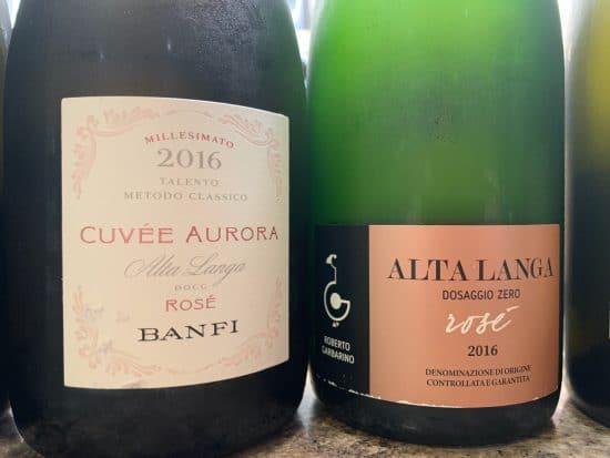 Piemonte's sparkling wine tradition: rosé