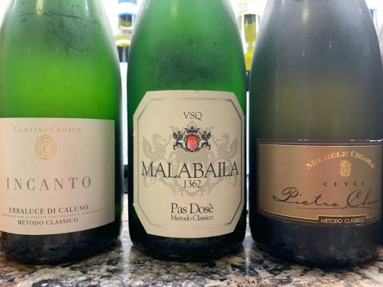 Piemonte's sparkling wine tradition: wines made from local varieties