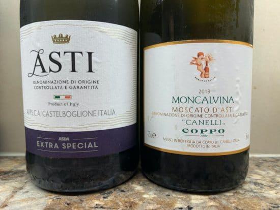 Tank method sparkling: Asti and Moscato d'Asti